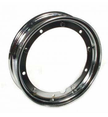Cerchio SIP 2.10-10 cromato per Vespa 50/ 50 special/ ET3/ PX125-200/ P200E/ Rally 180-200/ T5/ GTR/ TS/ Sprint