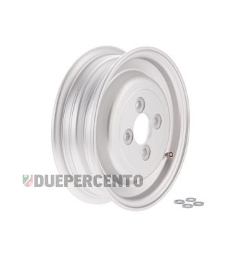 Cerchio chiuso in lega tubeless SIP PERFORMANCE argento opaco 2.15-8 per Vespa farobasso/VBA/VBB/150 VL