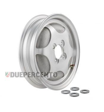 Cerchio chiuso in lega tubeless SIP PERFORMANCE alluminio lucido 2.15-10 per Vespa 150 GS VS1-4