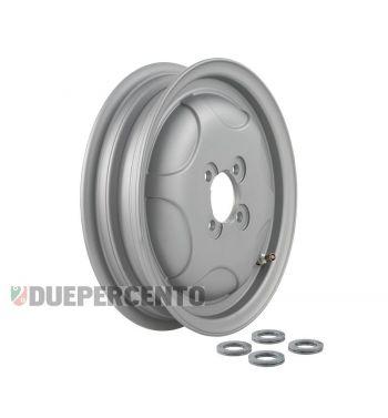 Cerchio chiuso in lega tubeless SIP PERFORMANCE grigio opaco 2.15-10 per Vespa 150 GS VS1-4