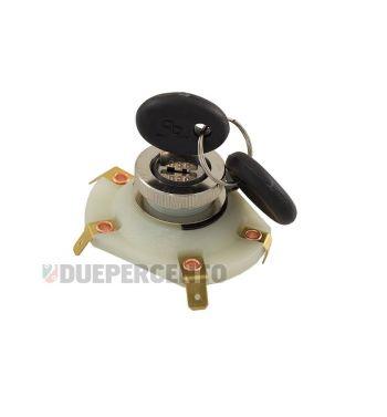 Interruttore a chiave per Vespa125 ET3/ 200 Rally 2°/ PX125-150/ P150S/ P200E senza batteria