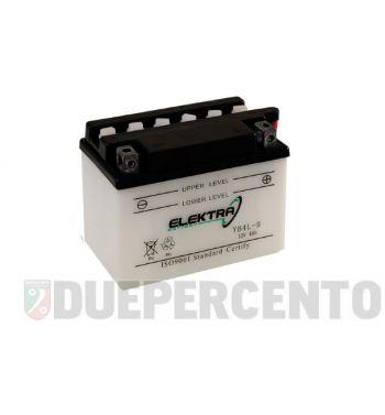 Batteria 12V 9Ah ELEKTRA YB9-B 137x76x140 per Vespa PX125-200 E/ '98/ MY/ '11/ PK50-125 S/ PK50 SS/ XL/ N/ Plurimatic/ ETS