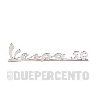 Targhetta VESPA 50 per scudo anteriore per Vespa 50 L / R