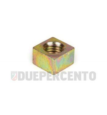 Dado M10 mm, a=9,0mm, vite cannotto dello sterzo, per Vespa V50/ PV/ ET3/ PK/ XL/ PX/ PX Lusso/ Rally180-200/ VNA/ VNB/ TS/ VBA