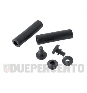 Kit di gommini cofani per Vespa 125 TS/ 160 GS/ 180 SS/ Rally /PX125-200/ P200E