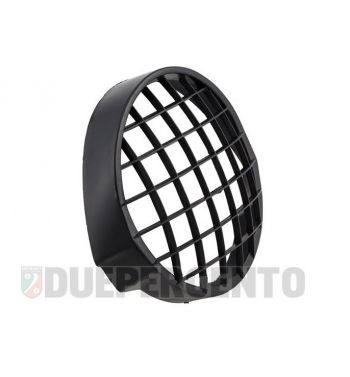 Griglia in plastica nera per fanale, per Vespa PX125-200/ PE/ Lusso