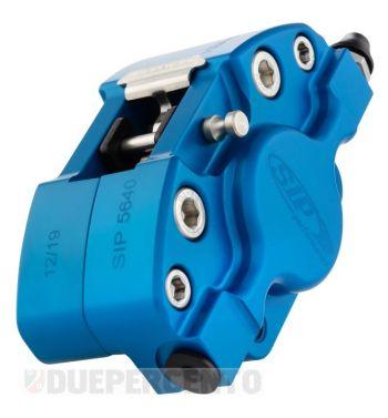 Pinza freno SIP 2 pistoncini Ø 31,5 mm, blu opaco anodizzato per Vespa PX '98/ MY/ '11 kit GRIMECA