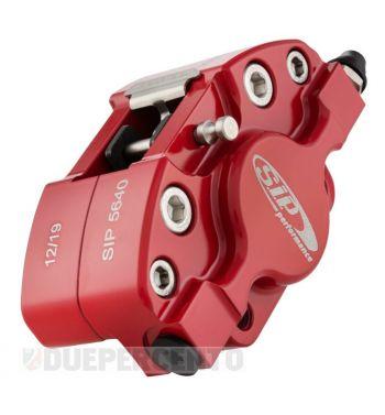 Pinza freno SIP 2 pistoncini Ø 31,5 mm, rosso, per Vespa PX '98/ MY/ '11 kit GRIMECA
