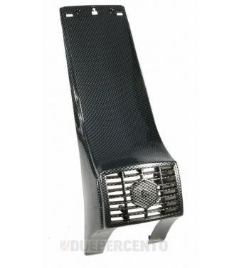 Nasello carbon look SIP per Vespa P125-150X/ PX125-200E/ Lusso 1°/ P150S/ P200E