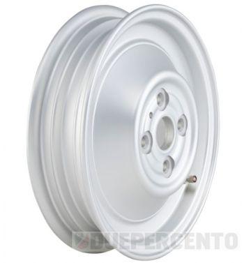 Cerchio chiuso in lega, tubeless SIP PERFORMANCE argento opaco 2.15-10 per Vespa 50 N/ L/ R/ 90