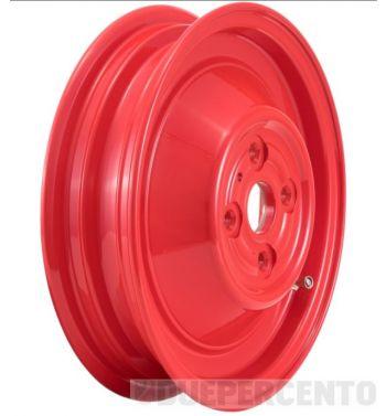Cerchio chiuso in lega, tubeless SIP PERFORMANCE rosso 2.15-10 per Vespa 50 N/ L/ R/ 90