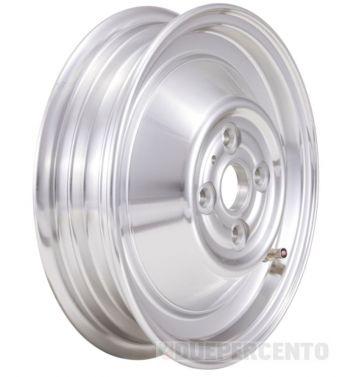 Cerchio chiuso in lega, tubeless SIP PERFORMANCE alluminio lucidato 4 fori 2.15-10 per Vespa 50 N/ L/ R/ 90