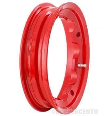 Cerchio in lega tubeless SIP PERFORMANCE 2,10-10 rosso per Lambretta 125-200cc