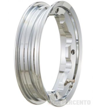 Cerchio in lega tubeless SIP PERFORMANCE 2,10-10 cromato per Lambretta 125-200cc