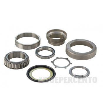 Kit cuscinetti di sterzo inferiore e superiore SIP per Vespa 50/ ET3/ PK/ PX125-200/ P200E/ Rally180-200/ T5/ GTR/ TS/ 125 VM/ VN/ VNA/ 160 GS/ 180 SS