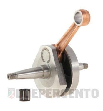 Albero motore MAZZUCCHELLI per SIP, biella 105, corsa 57, conversione cono 17mm a cono 20 PX per Vespa 125 VNB/ GT/ GTR 1°/ Super/ TS/ 150 VBA/ VBB/ GL/ Sprint/ Super