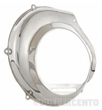 Coprivolano Oldie Style inox lucidato SIP per Vespa PX125-200/PE/Lusso /`98/MY/`11/Cosa con starter elettrico