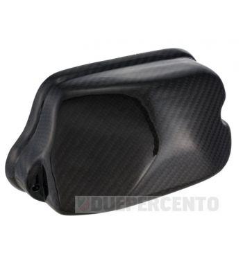 Coperchio scatola carburatore SIP in carbonio per Vespa PX125-200E/Rally200/P200E/Lusso/'98/MY/'11/T5
