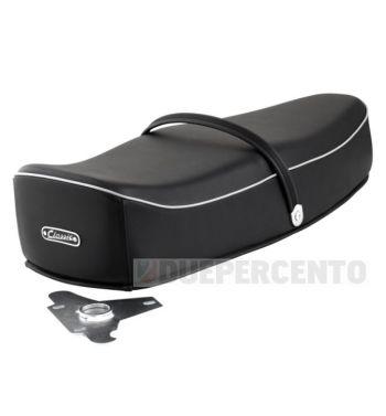 Sella nera SIP Classic Comfort per Vespa 125 VNA/ VNB/ GT/ GTR/ Super/ TS/ 150 VBA/ VBB/ GL/ Sprint/ V/ Super