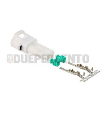 Capocorda rubinetto benzina / serbatoio, 2 pin