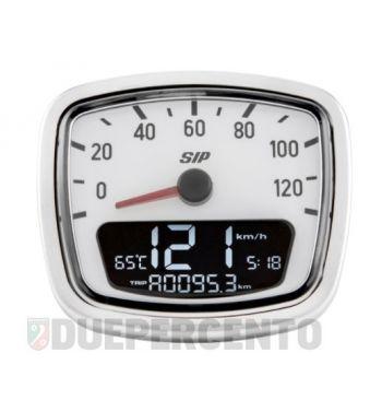 Contachilometri e contagiri SIP 2.0 per Vespa VNA/VNB - 120 (km/h/mph) / 12.000 (Umin/rpm)