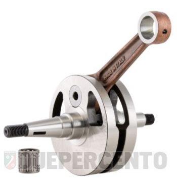 Albero motore SIP PREMIUM, gabbia a rulli, biella 110, corsa 54 per Vespa 125 VM1-2T/ VN1-2T