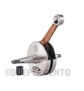 Albero motore SIP PREMIUM, gabbia a rulli, biella 105, corsa 57 per Vespa 150 GS
