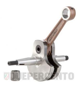 Albero motore SIP PREMIUM, gabbia a rulli, biella 110, corsa 50 per Vespa 125 V30-33T/ U/ Hoffmann HA/ HB