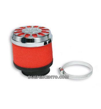 Filtro aria RED FILTER MALOSSI E13 Ø 60 dritto per carburatori PHBG 15-21, PHBL 20-26
