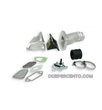 Collettore aspirazione lamellare MK I I, cilindro 136CC MALOSSI MHR Ø28 per Vespa 50/ 50 Special/ ET3/ Primavera/ PK50-125