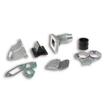 Collettore aspirazione lamellare, cilindro 136CC MALOSSI MHR Ø25 per Vespa 50/ 50 Special/ ET3/ Primavera/ PK50-125