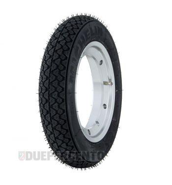 """Ruota completa MICHELIN S83, 3.50-10"""" con cerchio TUBELESS SIP 2.10-10"""" alluminio lucido per Vespa Largeframe"""