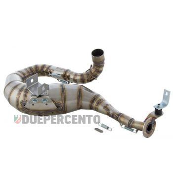 Marmitta in acciaio inossidabile SENZA SILENZIATORE Racing SIP PERFORMANCE 2.0 lato destro per Vespa PX200/RALLY200/PE200