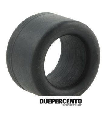 Silent-block occhiello CARBONE per ammortizzatore anteriore, sotto, 27x19x18 mm, per Vespa 50/ 50 Special/ ET3/ Primavera/ PK50-125