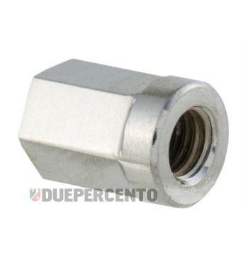 Dado M8x1,25 mm, esagonale, 10.9, acciaio, zincato, chiave 12mm, per cerhio tubeless Vespa/ Lambretta
