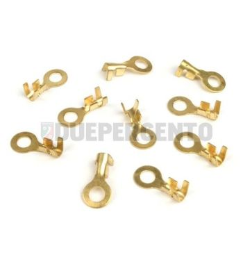 Capocorda faston BGM occhiello 6.5mm Ø=1.0-1.5mm²- 10 pz
