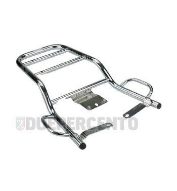 Portapacchi posteriore cromato per Vespa PX125-200/ P200E / Arcobaleno/ `98/ MY/ `11