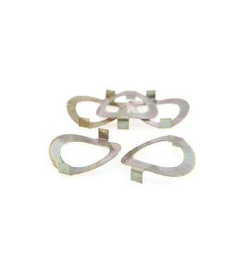 Rondella dentata serratura portaoggetti, per Vespa V50/ PV/ ET3/ PK XL/ Rush