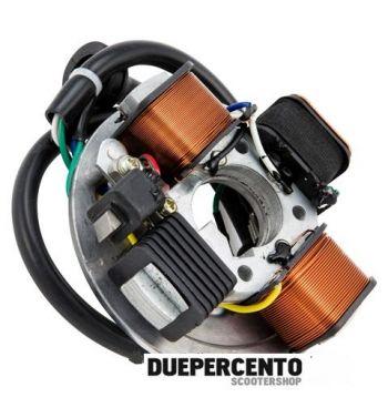 Statore PIAGGIO 7 cavi, 3 bobine per Vespa PK50, V5X2T 181679