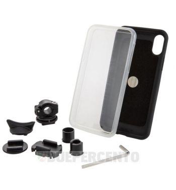 Supporto per smartphone PIAGGIO per montaggio su asta specchietto per iPhone X