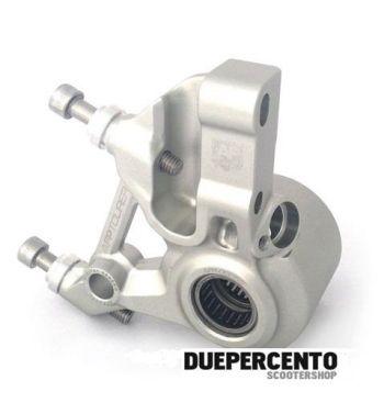 Supporto pinza AF Parts, freno anteriore alluminio, per pinza a 4 pistoncini STAGE 6, ADELIN - per Vespa PX125-200/ MY/ NT 20mm