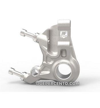 Supporto pinza AF Parts racing freno anteriore alluminio, per pinza a 4 pistoncini STAGE 6, ADELIN - per Vespa PX125-200/ MY/ PK50-125/ NT 20mm