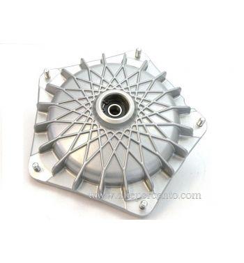 Tamburo GRIMECA freno a disco NT, anteriore, per Vespa P80-150X/P200E 1°/PX80-150E 1° Ø 16 mm, grigio, Modello a raggi