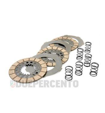 Dischi frizione SURFLEX per frizioni 6 molle, 3 dischi sughero, 3 infradischi, 6 molle, per Vespa 125 VN1T/ VNA2T/ 150 VL1-3T/ VB1T/  VGL1T