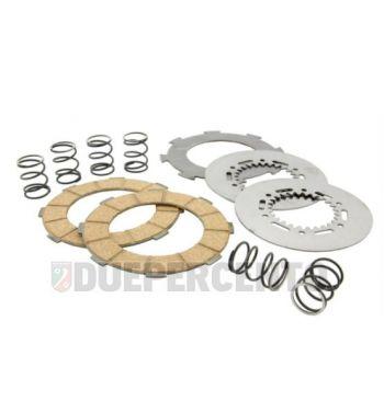 Dischi frizione SURFLEX per frizione 6 molle, 3 dischi sughero, 2 infradischi, 6 molle per Vespa 180 SS/ 180 Rally