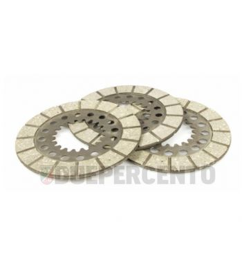 Dischi frizione SURFLEX, 3 dischi insughero per Vespa 125 VN1T/ VNA2T/ 150 VL1-3T/ VB1T/ VGL1T