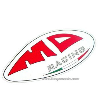 Adesivo MD Racing - 7,5x4,5cm