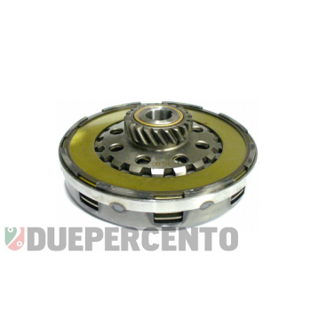 Frizione 8 molle, z21 denti, rinforzata per Vespa PX125-200 / P200E / 180-200 Rally/ Cosa/ Sprint / 125 GT / GTR / T5