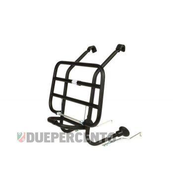 Portapacchi anteriore nero FA ITALIA  per Vespa 50/ 50 Special/ ET3/ Primavera/ Sprint / 125 GT / GTR / Rally/ PX/ PE/ T5