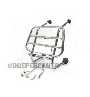 Portapacchi anteriore cromo FA ITALIA  per Vespa 50/ 50 Special/ ET3/ Primavera/ Sprint / 125 GT / GTR / Rally/ PX/ PE/ T5